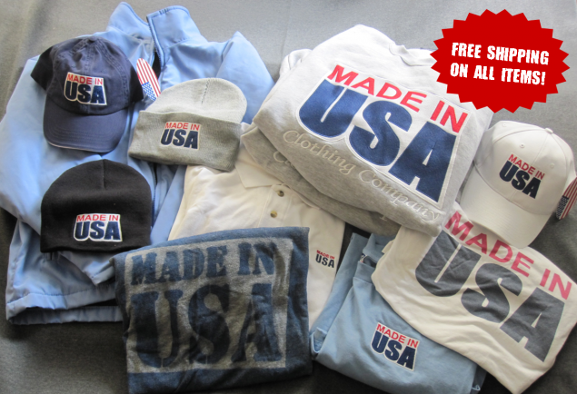 From Made in USA Threads