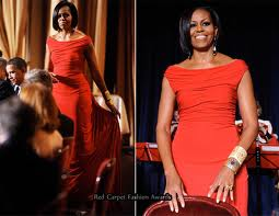 Michelle Obama in a Prabal Gurung dress