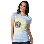 Daisy Organic Made in USA t-shirt