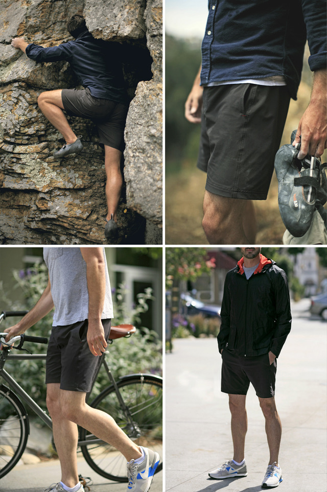 Olivers shorts made in San Francisco