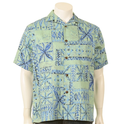 Elvis Tapa Mens Aloha Shirt - Hilo Hatties
