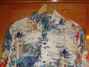 Vintage Pikake Aloha Tower found on thehanashirtco.com