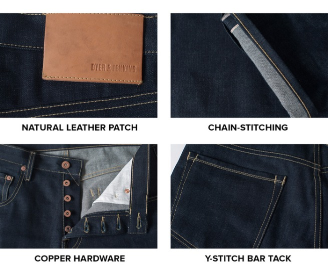Dyer and Jenkins Selvedge