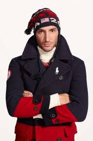2014 Winter Olympic uniform designed by Ralph Lauren