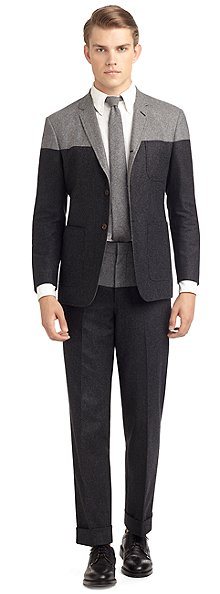 Black Fleece Suit