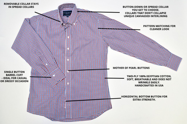 Hucklebury dress shirts
