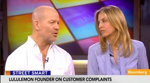 Lululemon CEO, Chip Wilson on Bloomberg TV