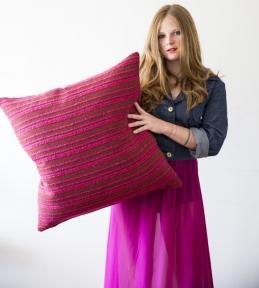 Poppy Von Frohlich pillow