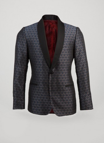 Billy Reid Heirloom Shawl Dinner Jacket