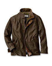 Orvis Denver Leather Jacket