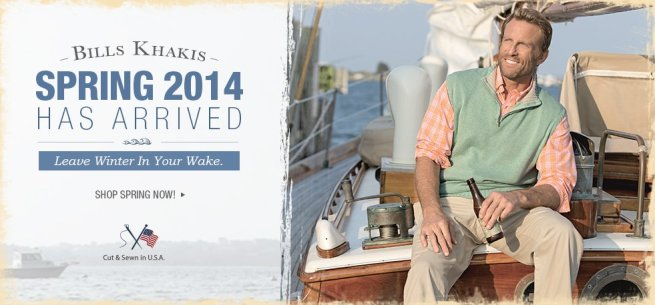 Bills Khakis Spring 2014