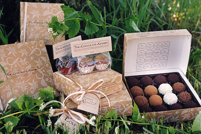The Chocolate Garden Truffles to die for
