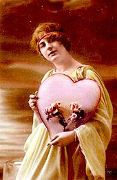 Valentine's Day Postcard Circa 1910