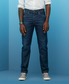 Levi's Ruler Straight  (sweet blue) $235