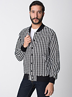 American Apparel Houndstooth Flex Jacket