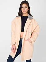 American Apparel Petite Unisex Long Wool Coat