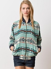 Pendleton Portland Collection Reversible Oregon Dunes Silk Windbreaker