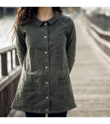 Waxwear A-Line Coat