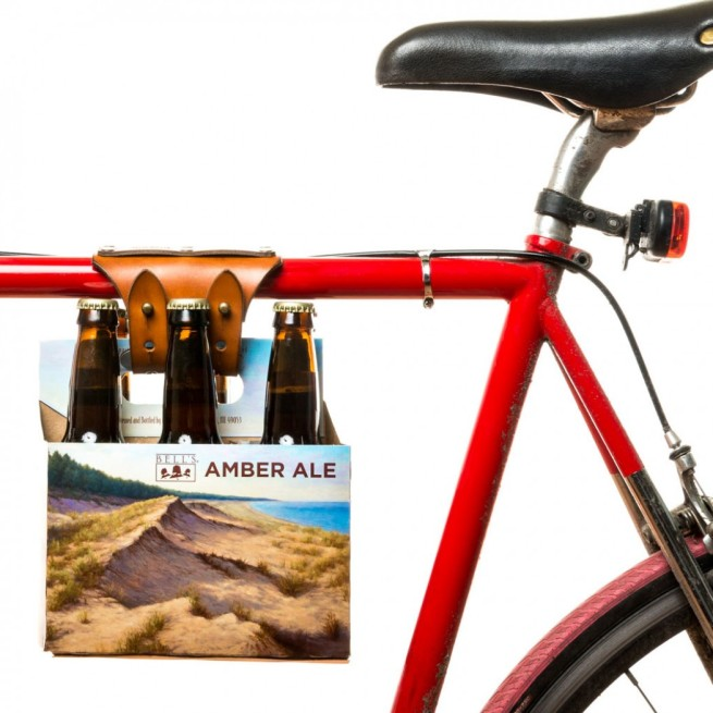 Flint and Tinder Bicycle 6 pack carrier