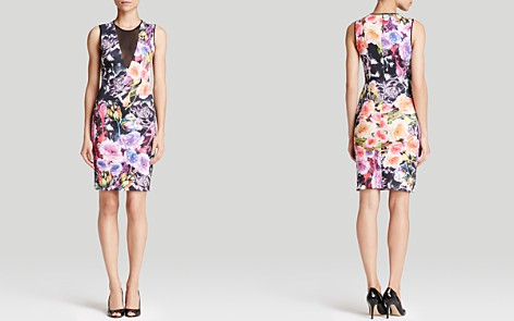 Clover Canyon Floral Sheath Dress