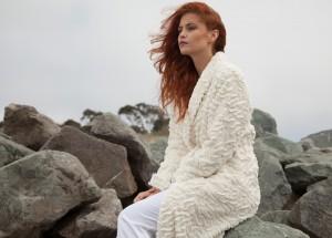Tourance Lux Caressa Robe in Cream