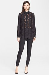 Jason Wu Silk Fil Tunic Blouse