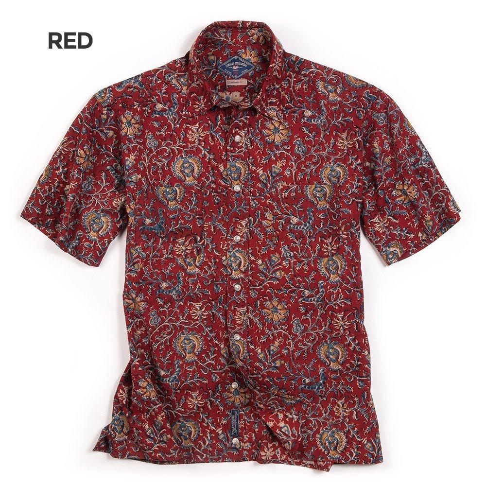50cc935a Dad's Beach Shirt (red) from Bills Khakis