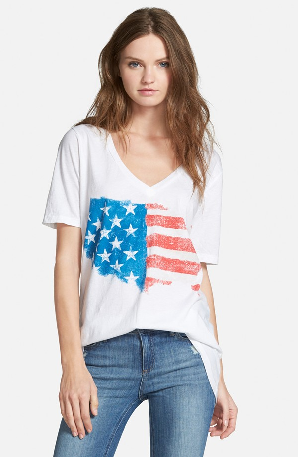 Chaser American Flaf T shirt from Nordstroms