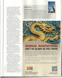 itimanufacturing - making it easy for US companies to offshore to China