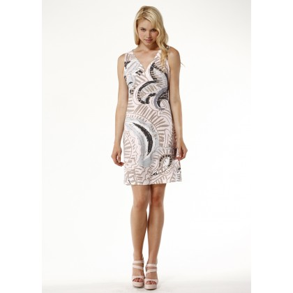 Tribal Earth Sleeveless Dress