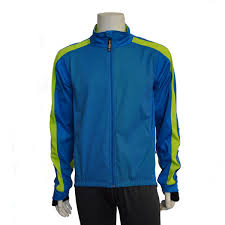 Portland II Softshell Jacket Blue and Flo Yellow - IllumiNite