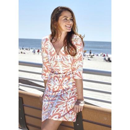Begin and Again Sonya Orange Dress