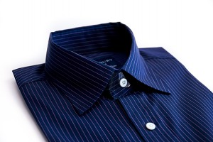 Hucklebury Washington Navy Blue Stripes