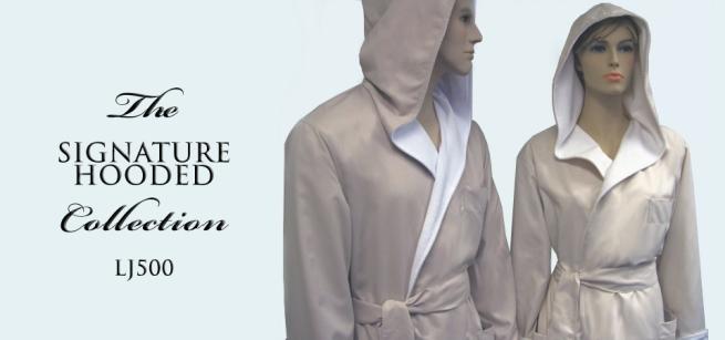 Robeworks LJ500 Luxury hooded Robe