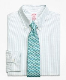 Brooks Brothers Madison Fit Benegal Stripe Dress Shirt