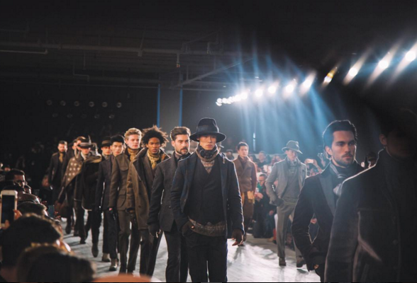 "Joseph Abboud worked with six other Made in America designers to ""put together an epic collection"" during New York Fashion Week. 