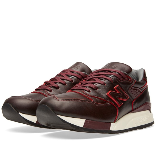 998 Horween Leather - Burgundy - introduced in late 2014