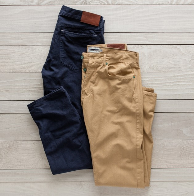 Sailboat Selvage 5 pocket pants