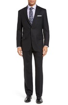 New York Fit Black suit