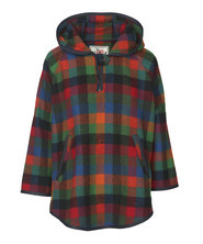 Women's Mill Wool Hooded Cape