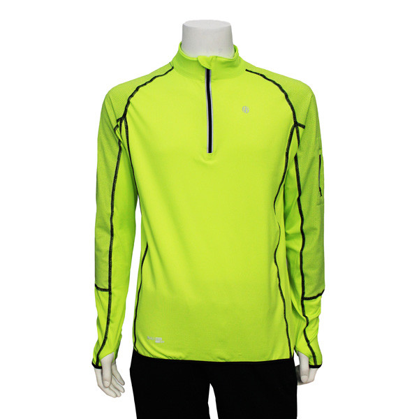 1bce16eb24dc1f Illuminite Pullover in Flo Lime and Black