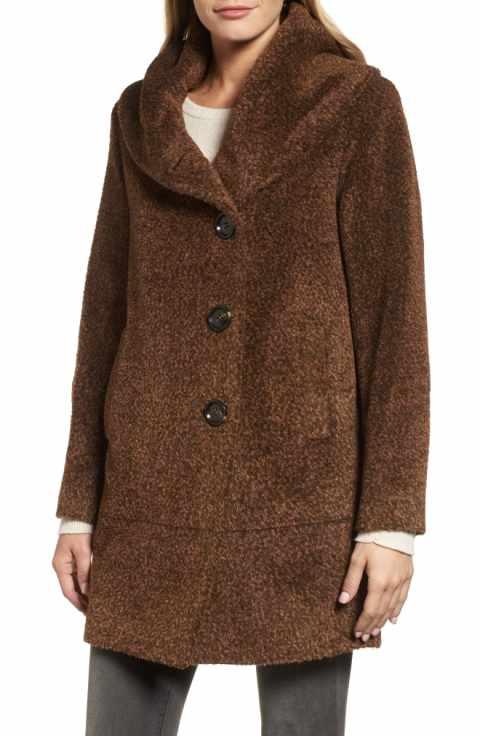 fa16b6cb5a5 Nordstroms Sofia Cashmere Wool Blend Coat